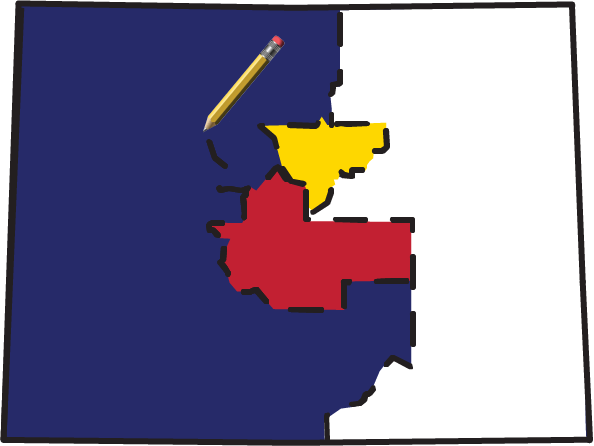 Colorado Independent Redistricting Commissions logo